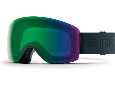 *** 2. Wahl *** Smith Skyline, deep forest flood/Lens: chromapop everyday green mirror - Skibrille |
