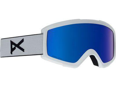 *** 2. Wahl *** Anon Helix 2 Sonar inkl. WS, white/Lens:  sonar ir blue - Skibrille |