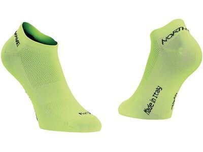 Northwave Ghost 2 Man Socks, lime fluo - Radsocken