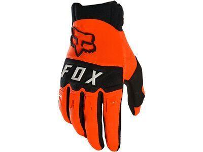 Fox Dirtpaw Glove fluorescent orange