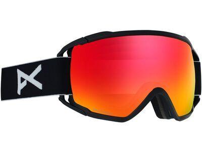 Anon Circuit, black/lens: sonar red - Skibrille