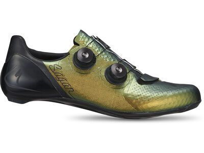 Specialized S-Works 7 Road Shoes Sagan Collection - Deconstructivism green