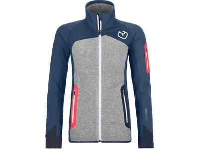 Ortovox Merino Fleece Plus Jacket W, night blue - Fleecejacke