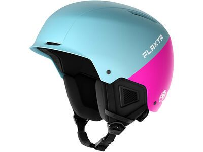 Flaxta Noble Junior, light blue/bright pink