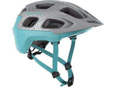 Scott Vivo Helmet, vogue silver/stream blue - Fahrradhelm
