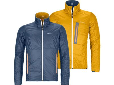 Ortovox Swisswool Light Piz Boval Jacket M, night blue - Thermojacke