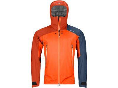 Ortovox Westalpen 3L Light Jacket M, burning orange - Jacke