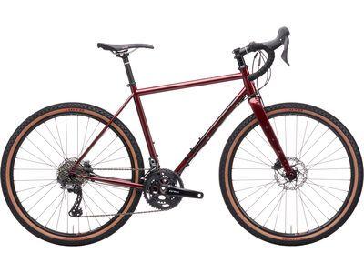 Kona Rove LTD 2021, gloss metallic pinot noir - Gravelbike