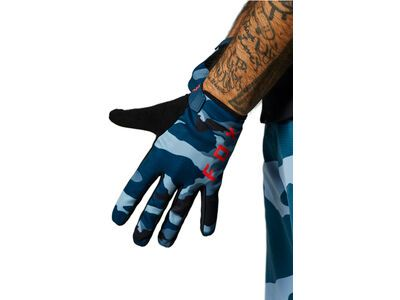 Fox Ranger Glove blue camo