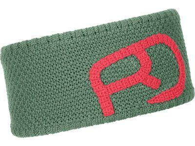 Ortovox Merino Rock'n'Wool Headband W, green isar