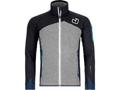 Ortovox Merino Fleece Plus Jacket M, black raven - Fleecejacke