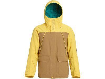 Burton Breach Insulated Jacket, kelp/maize - Snowboardjacke