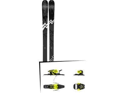 Set: K2 SKI Press 2019 + Salomon Warden 11 yellow/black