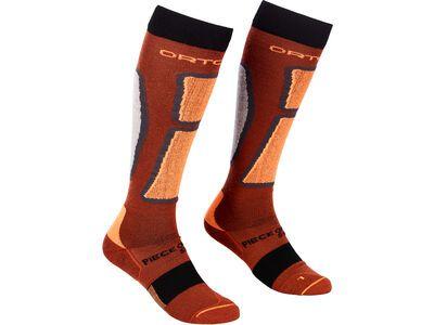 Ortovox Ski Rock'n'Wool Long Socks M clay orange