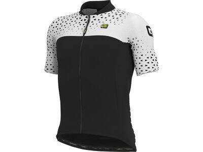 Ale Climb Jersey, black-white - Radtrikot
