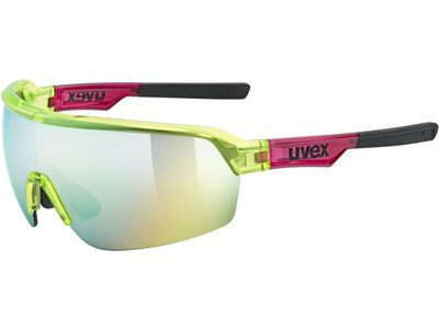 uvex sportstyle 227 Mirror Yellow yellow red transparent