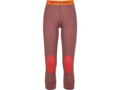 Ortovox 185 Merino Rock'n'Wool Short Pants W, blush blend - Unterhose