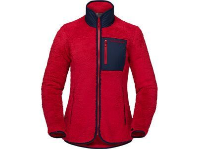 Norrona warm3 Jacket W's, jester red - Fleecejacke