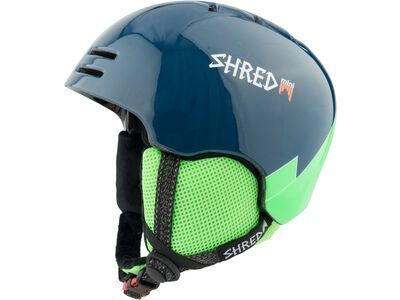 Shred Slam-Cap Mini, wee blue green - Skihelm