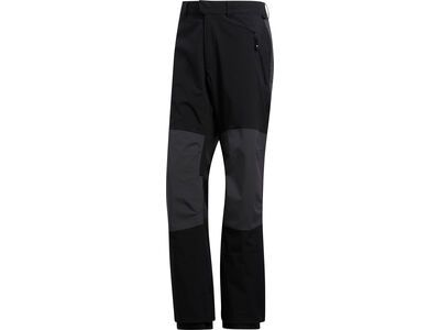 Adidas 20K Fixed Pants, black/orange - Snowboardhose