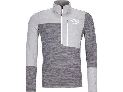Ortovox Merino Fleece Light Zip Neck M grey blend