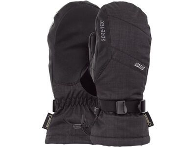 POW Gloves Warner Jr. Gore-Tex Long Mitt, black - Snowboardhandschuhe