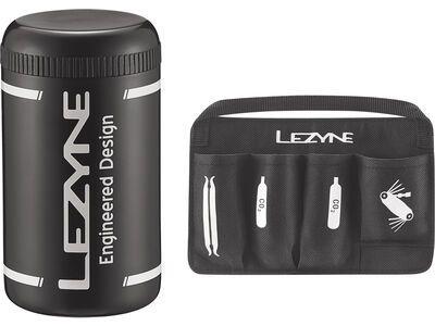 Lezyne Flow Caddy mit Organizer, black - Werkzeugflasche