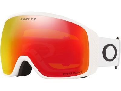 Oakley Flight Tracker XL Prizm, matte white/Lens: torch iridium - Skibrille