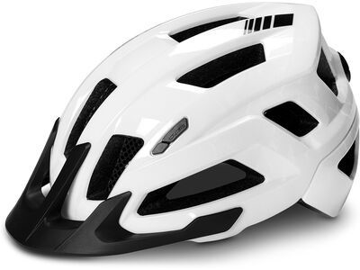 Cube Helm Steep glossy white