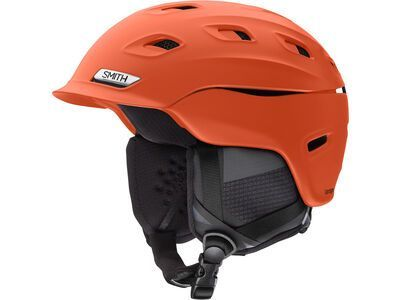 Smith Vantage, matte red rock - Snowboardhelm