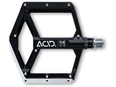 Cube Acid Pedale Flat A1-CB, black