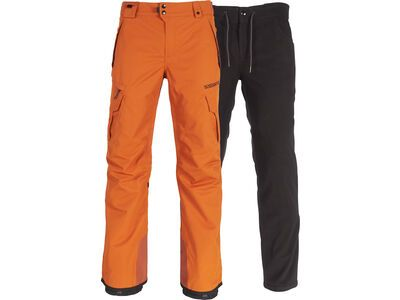 686 Men's Smarty 3-in-1 Cargo Pant, copper - Snowboardhose