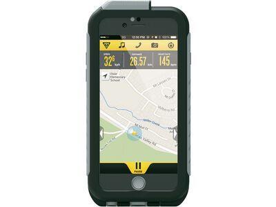 Topeak Weatherproof RideCase iPhone 6/6s ohne Halter, black/gray - Schutzhülle