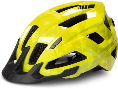 Cube Helm Steep, glossy citrone - Fahrradhelm