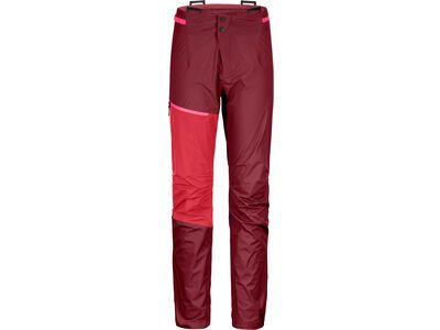Ortovox Westalpen 3L Light Pants W, dark blood - Hose