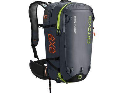 Ortovox Ascent 40 mit Avabag Kit, ohne Kartusche black anthracite