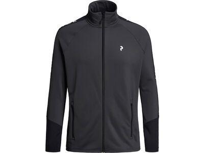 Peak Performance Rider Zip Jacket motion grey/black