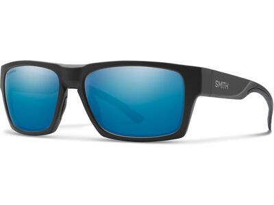 Smith Outlier 2 Chromapop Polarized Blue Mirror matte black