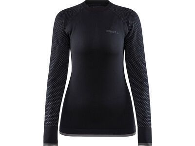 Craft Adv Warm Fuseknit Intensity LS W, black - Unterhemd