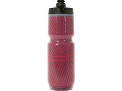 Specialized Purist Insulated Chromatek MoFlo 0,68 L - Concrete, red - Trinkflasche