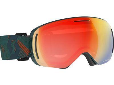 Scott LCG Evo - Enhancer Red Chrome sombre green/pumpkin orange