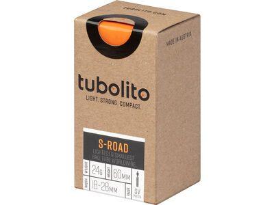 Tubolito S-Tubo Road 60 mm - 700C x 18-28C orange