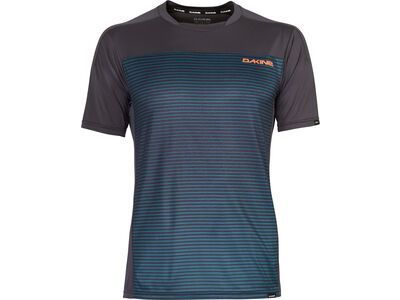 Dakine Syncline S/S Jersey, slate blue stripe - Radtrikot