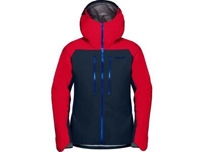 Norrona lyngen Gore-Tex Jacket M's, true red/indigo night - Skijacke