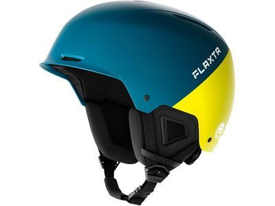 Flaxta Noble Junior, petrol/bright yellow