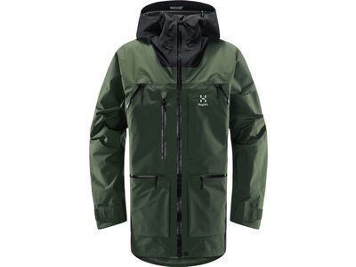 Haglöfs Vassi GTX Pro Jacket Men, fjell green/true black - Skijacke