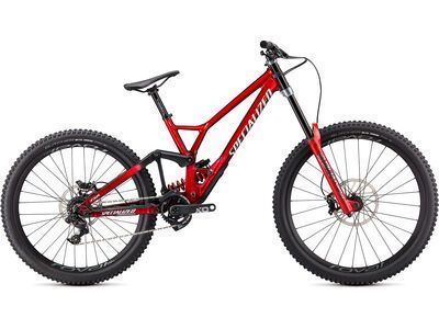 Specialized Demo Race 2021, brushed/red tint/white - Mountainbike