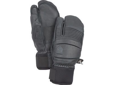 Hestra Leather Fall Line 3 Finger, grau - Skihandschuhe
