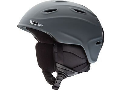 Smith Aspect, matte charcoal - Snowboardhelm