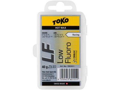 Toko LF Hot Wax, yellow - Gleitwachs